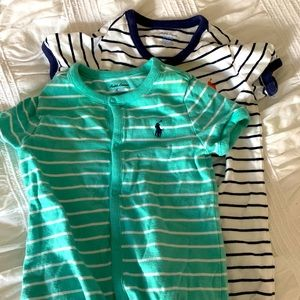 Nwot set of two boys rompers